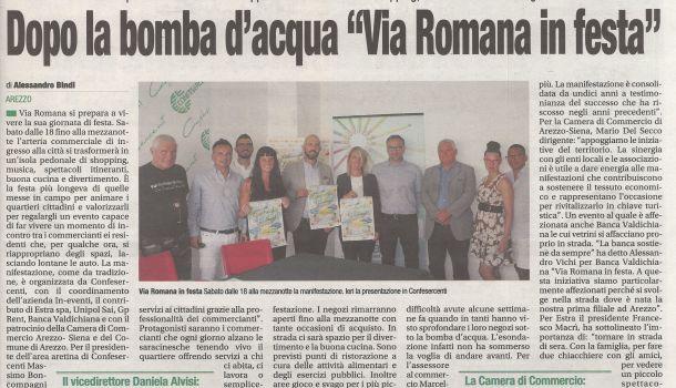 Corriere di Arezzo 4 settembre 2019