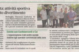 Corriere di Arezzo 5 settembre 2019