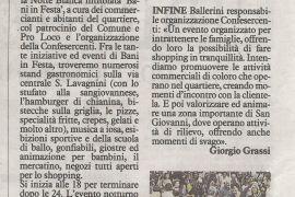 La Nazione di Arezzo 4 settembre 2019