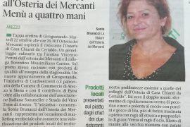 Corriere di Arezzo 15 ottobre 2019