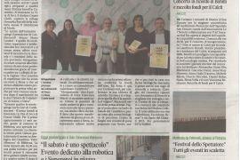 Corriere di Arezzo 5 ottobre 2019