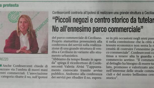 Corriere di Arezzo 14 novembre 2019