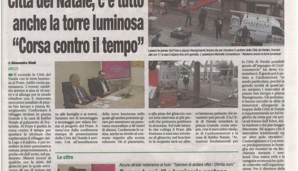 Corriere di Arezzo 15 novembre 2019