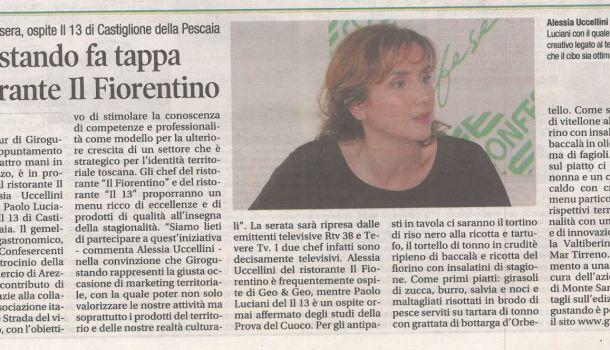 Corriere di Arezzo 7 novembre 2019