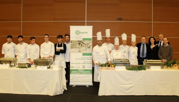 """Dalla scuola di cucina Chef al 17 partecipazione a """"Orienta il tuo futuro"""""""
