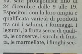 Corriere di Arezzo 19 dicembre 2019