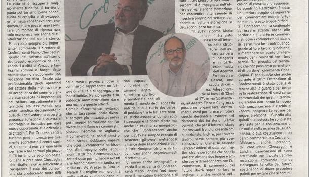 Corriere di Arezzo 20 dicembre 2019 – Speciale economia