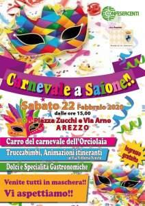 Carnevale Saione locandina 2020