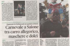 Corriere di Arezzo 20 febbraio 2020