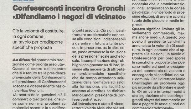 La Nazione di Arezzo 5 febbraio 2020
