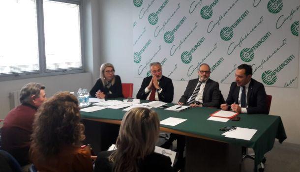 Confesercenti: Il presidente Nico Gronchi incontra la presidenza provinciale