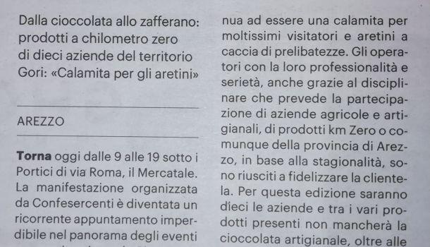 La Nazione di Arezzo 29 febbraio 2020
