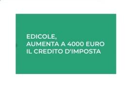 Edicole: aumenta a 4.000 euro il credito d'imposta