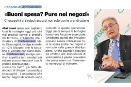 La Nazione di Arezzo 1 aprile 2020