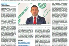 La Nazione di Arezzo 20 marzo 2020