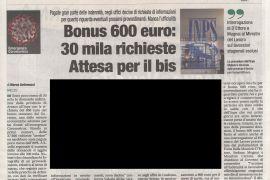 Corriere di Arezzo Domenica 3 maggio 2020