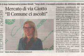 Corriere di Arezzo 15 maggio 2020
