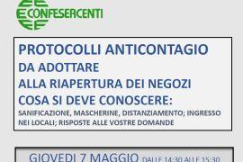 Ripartenza in sicurezza: seminario gratuito sui protocolli anticontagio