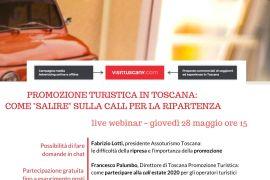 TURISMO Promozione di ripartenza: giovedì 28 webinar per operatori