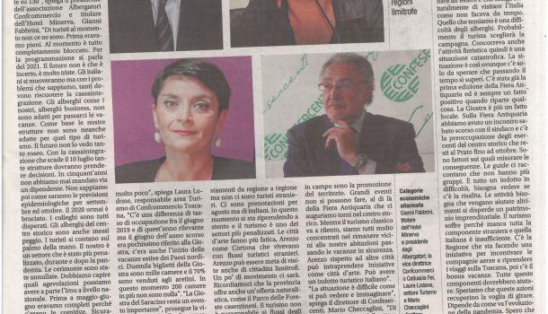 Corriere di Arezzo 23 giugno 2020