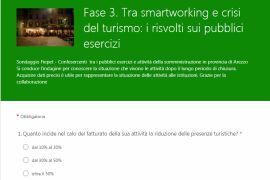 SONDAGGIO FIEPET CONFESERCENTI: FASE 3, TRA SMART WORKING E CRISI DEL TURISMO