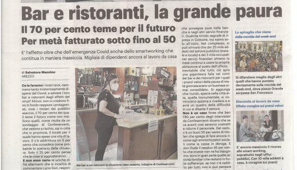 La Nazione di Arezzo 16 luglio 2020