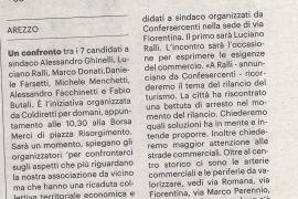 La Nazione di Arezzo 22 luglio 2020