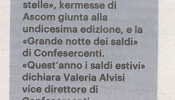 La Nazione di Arezzo 30 luglio 2020