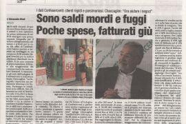 Corriere di Arezzo 11 agosto 2020