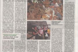 Corriere di Arezzo 29 agosto 2020