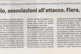 La Nazione di Arezzo 29 agosto 2020