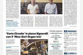 La Nazione di Arezzo 13 agosto 2020