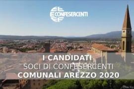 FACCIA A FACCIA CON I SOCI CANDIDATI AL CONSIGLIO COMUNALE DI AREZZO