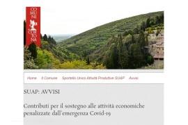 CORTONA: PUBBLICATO IL BANDO PER IL SOSTEGNO ALLE ATTIVITÀ ECONOMICHE PENALIZZATE DAL COVID