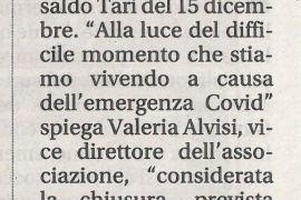 Corriere di Arezzo 25 novembre 2020