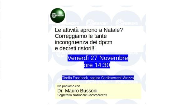 FOCUS CON IL SEGRETARIO NAZIONALE BUSSONI