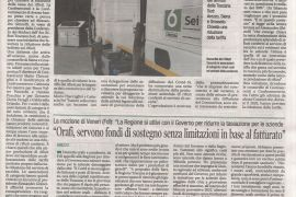 Corriere di Arezzo, 20 gennaio 2021