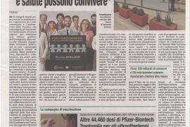 Corriere di Arezzo 24 febbraio 2021