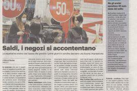 La Nazione di Arezzo 3 febbraio 2021