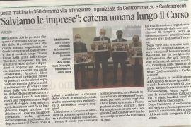 Corriere di Arezzo 1 marzo 2021