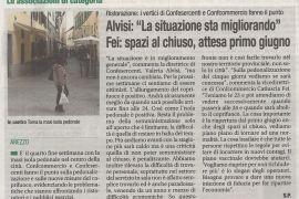 Corriere di Arezzo 23 maggio 2021