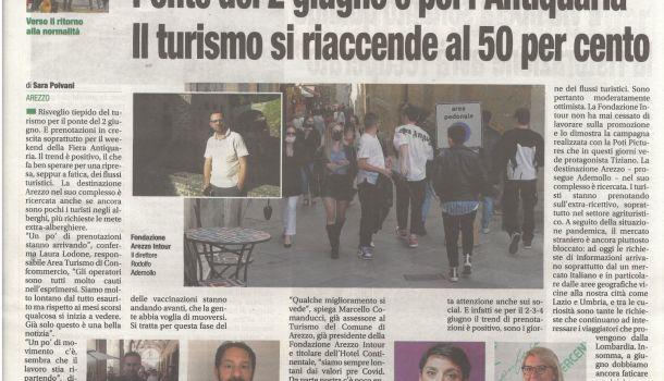 Corriere di Arezzo 29 maggio 2021