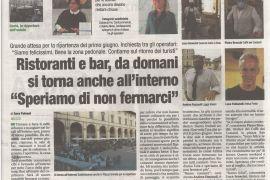 Corriere di Arezzo 31 maggio 2021