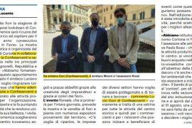 La Nazione di Arezzo 28 maggio 2021