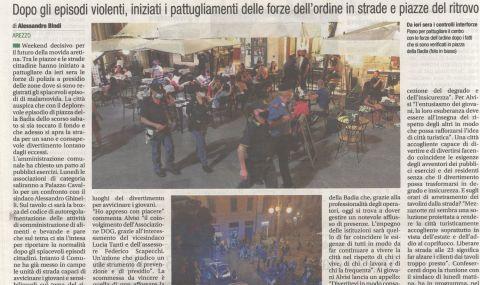 Corriere di Arezzo 12 giugno 2021