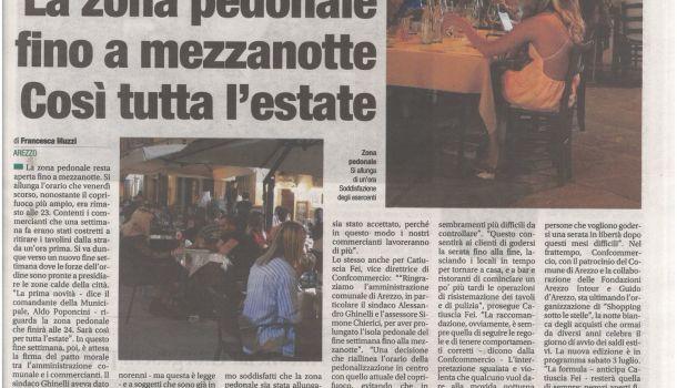 Corriere di Arezzo 18 giugno 2021