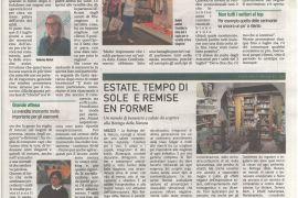 Corriere di Arezzo 4 giugno 2021