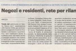 La Nazione di Arezzo 14 luglio 2021