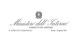 GREEN PASS E CONTROLLI: LA CIRCOLARE DEL MINISTERO DELL'INTERNO