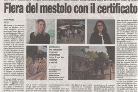 Corriere di Arezzo 25 agosto 2021